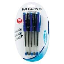 20 Ballpoint Pens for £1.00 @ Poundworld (Various colours available)