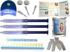 Briyte ® Teeth Whitening Pro Home Kit (TEETH WHITENING) with gel light & Briyte Crest £11.83 Sold by retailelectromobiles and Fulfilled by Amazon.