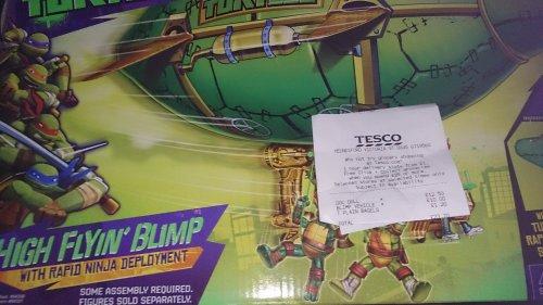 Mutant turtle blimp £10 tesco instore