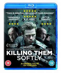 Killing Them Softly (Blu-ray) - £2.98 @ Amazon [Free Delivery With £10+ Spend/Amazon Prime]