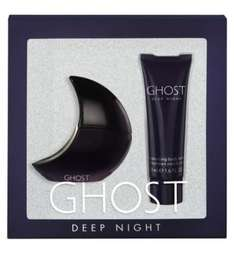 ghost deep night 30ml gift set £12.25 online in Boots