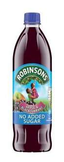 Robinsons 1ltr No added sugar - Apple/Blackcurrant/Summer Fruits or Orange WAS £1.35 each on offer 2 for £1.50 @ Iceland