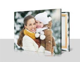 Photo Canvas 80 x 60cm £20.15 (£5 postage) @ my-picture