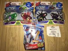 Spiderwars and web cannon spiderman reduced to £1.50 each INSTORE Asda tunstall