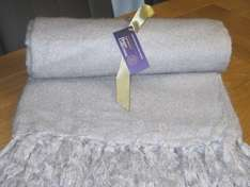 Home Collection aux Mohair silver Throw 150x200cm £2 @ Sainsbury's