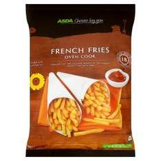 French fries oven cook (1KG) better than half price - 61p @ Asda