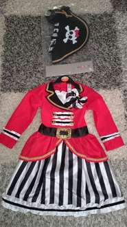 girl pirate outfit - multiple child sizes left @ Sainsbury in store in Torquay - should be nationwide - down to £3.90