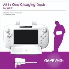 Wii U All-In-One Charging Dock only £4.00 delivered @ GAME