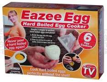 Eazee egg hard boiled egg cooker 6 cookers easy as seen on tv £1 @ poundword