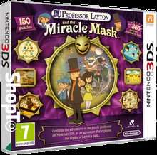 Professor Layton and The Miracle Mask Nintendo 3DS £4.85 @ Shopto