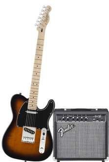 Squier by Fender Affinitiy Telecaster & Frontman 15G Electric Guitar Pack Brown Sunburst with 3 year warranty £149  delivered from DV247