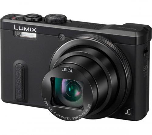 Panasonic Lumix DMC-TZ60EB-K Compact Digital Camera - Black £279 or £249 after cashback @ Amazon
