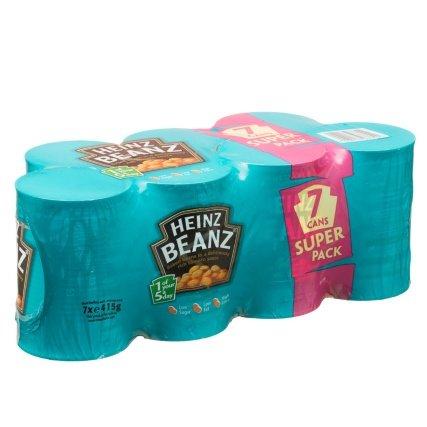 Heinz Beanz 7x415g Super Pack £1.99 @ B&M