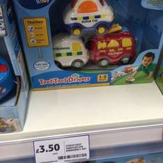 Vtech Toot Toot Emergency Set 3 Pack £3.50 @ Tesco