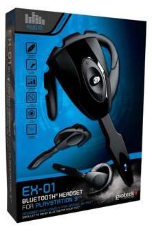 PS3 - Gioteck EX-01 Bluetooth Headset £7.50 - Sold by Gamer's Outlet and Fulfilled by Amazon (Free delivery £10 spend/Prime)