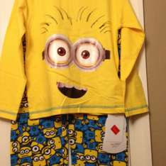 Kids Minion pyjamas, primark Basildon £3.00 @ Primark - various sizes available I see up to 9-10years. Worth a look