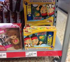 Jake and the Neverland pirates pop up book and flashlight £2.50 @ Asda in store.