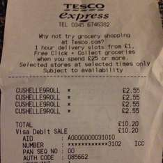 9 roll Cushelle £2.25 @ Tesco express Partick, Glasgow