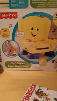 Fisher price laugh and learn chair in-store Tesco £8.50