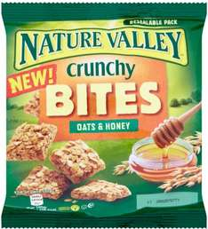 Nature Valley Crunchy Bites Oats & Honey (126g) was £1.99 now 99p @ Waitrose