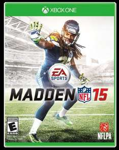 Madden NFL 15 (XBOX ONE ONLY) £35 from Amazon
