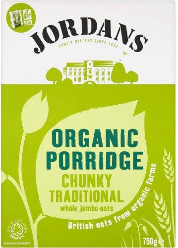 Jordans Organic Porridge Oats Chunky Traditional (750g) was £1.99 any 2 for £2.50 @ Waitrose