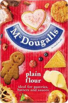 McDougalls Plain or Self Raising Flour (1.25 kg) was £1.42 now 71p @ Waitrose