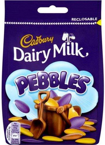 Cadbury Dairy Milk Pebbles (119g) was £1.50 now 75p @ Waitrose
