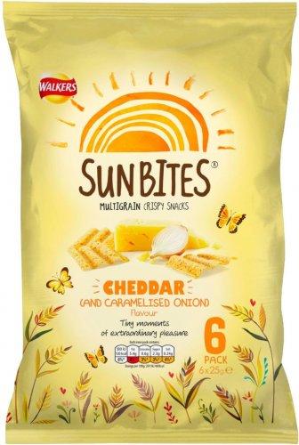 Walkers SunBites Wholegrain Snacks (6 x 25g) was £1.89 now 94p @ Waitrose