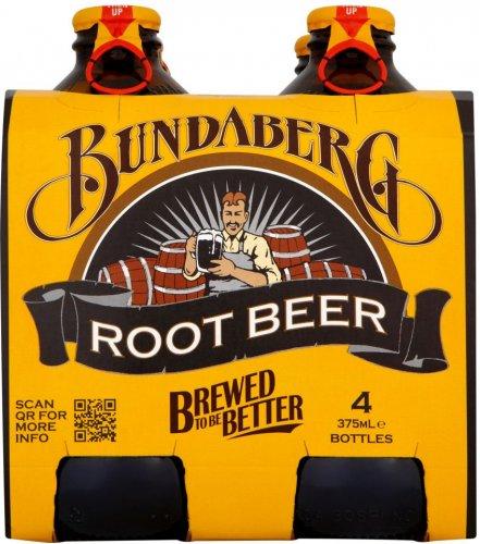 Bundaberg Ginger Beer (4 x 340ml) or Root Beer (4 x 375ml) was £4.99 now £2.99 @ Waitrose