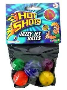 Hot Shots - Jazzy Jet Power Balls or Metallic Marbles 50p @ Argos