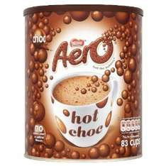 Nestlé Aero Instant Hot Chocolate 2 kg £8.21 @ Amazon or £7.80 with S&S - free delivery  £10 spend/prime
