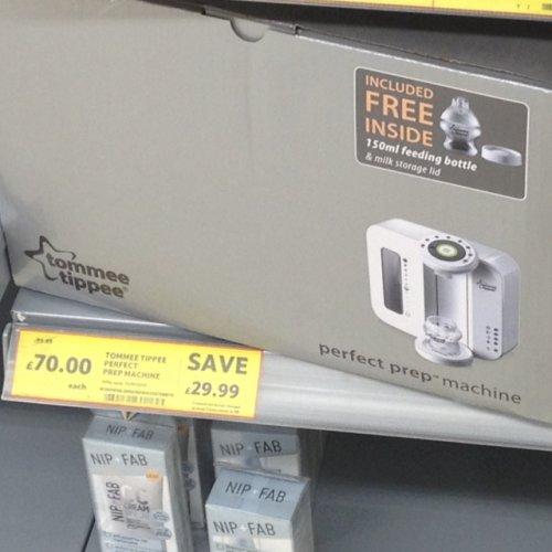 Tommee tippee prep machine £70.00 @ Tesco instore