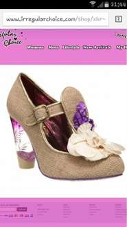 irregular choice can't touch this shoe £29.99 plus postage from £3.00 at irregular choice