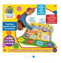 Mr Tumble Get up & Go Playmat Tesco in-store @ £5