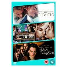 Titanic / Romeo & Juliet / Man In The Iron Mask (3 Disc DVD Boxset) only £3.00 delivered @ Play / Fox Direct