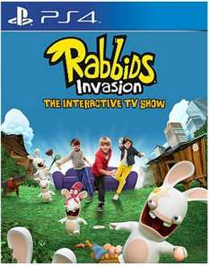 Rabbids Invasion (PS4) only £10.00 delivered @ ASDA Direct