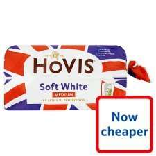 hovis white bread 800g in tesco at 78p