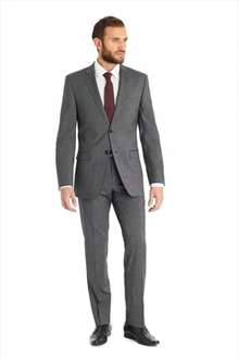 Moss Bros. suits as low as £23.20 with code. Possible cash back