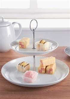 2 Tier Cake Stand at Matalan only £1.50 - free C&C