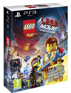 The LEGO Movie: Videogame + Western Emmet Lego Minifigure PS3 £13.06 @ Amazon