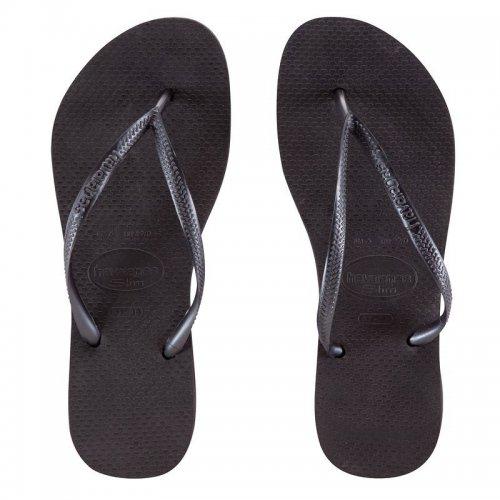 HAVAINAS Slim Flip-Flops Black £3.99 EU 35-36 UK 2.5-3 at Decathlon (Collect or £3.99 Delivery)