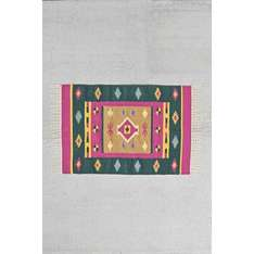 Kilim Woven 2x3 Rug in Pink £3 down from £24 @ Urban Outfitters