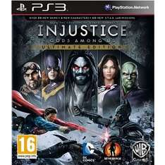 Injustice Gods Among Us Ultimate Edition PS3 Only £12 @ Asda Direct