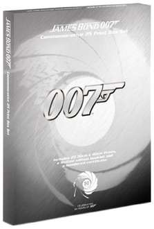 James Bond Limited Edition Art Print Box Set £38.72 from Amazon (£125 RRP)