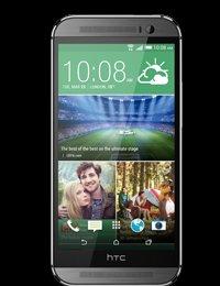 HTC One M8 Refurb Metal Grey on O2 Refresh £254.00