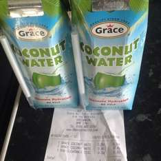 Grace coconut water 330ml 2 for 99p @ 99p stores