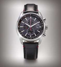 Citizen Men's Eco Drive Watch with Black Dial Analogue Display and Black Leather Strap CA0369-11E - £69 @ Amazon