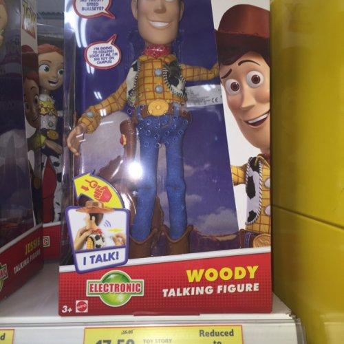 Toy Story Talking Woody & Jessie Figures HALF PRICE £17.50  @ Tesco