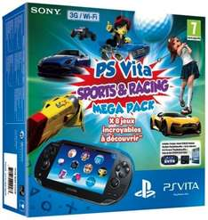 SONY PS Vita Sports & Racing Mega Pack with 16 GB Memory Card £129.99 @ Currys